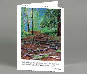 Roots Note Card