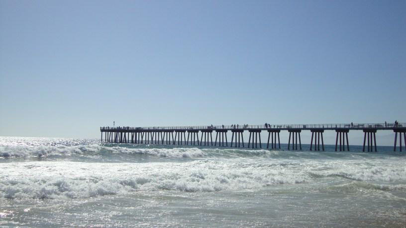 ocean, Hermosa Beach, CA