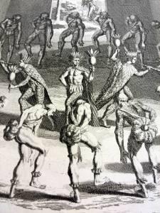 156. PICART. Cérémonies et coutumes religieuses de tous les peuples du monde. 1783. Détail