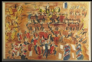 245. [DUFY].— WITOLD. Concert des anges.