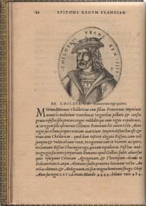 239. Epitome gestorum LVIII. Regum Franciæ