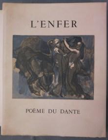 269. DANTE. L'Enfer, illustré par Rodin.