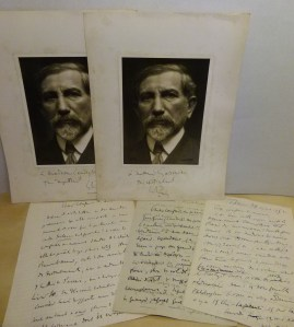 327. MAURRAS. 3 L. A. S. + 4 photographies