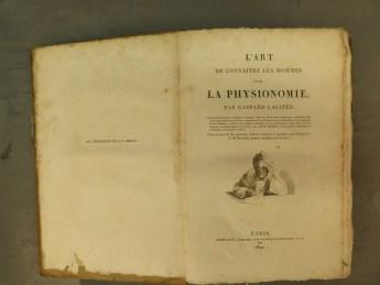 541. LAVATER. L'Art de connaître les hommes par la physionomie.