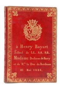 350. Abécédaire du Duc de Bordeaux