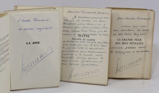 Bibliothèque André Frénaud. 2. BERNANOS