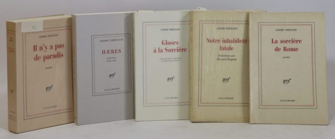 Bibliothèque André Frénaud. 45. FRÉNAUD