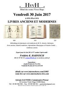 Vente de livres, Dijon 30 juin 2017