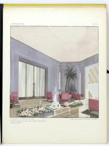 233. PROU. Intérieurs au Salon des artistes décorateurs. Paris, Charles Moreau, 1928.