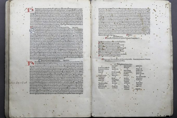 341. [INCUNABLE]. VALLA. 1488