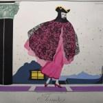 91. [BRUNELLESCHI].— HOUVILLE. Les Masques et les personnages de la Comédie italienne