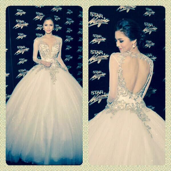 LOOK: Kim Chiu\'s Gown For 8th Star Magic Ball 2014 - Enchos.com