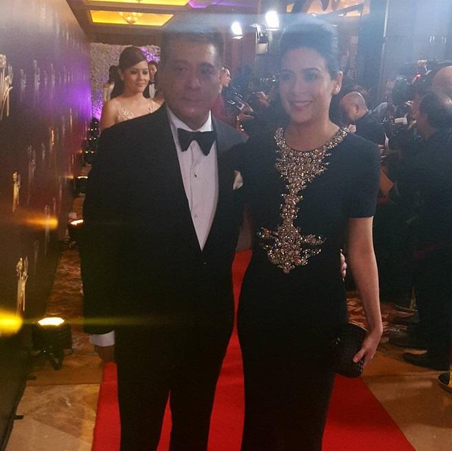 Cong. Anton Lagdameo and Dawn Zulueta