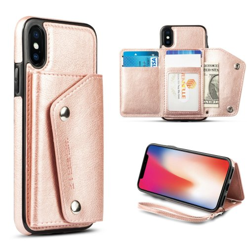 For iPhone X ,iPhone 10 Wallet Case, WenBelle Leather Case (5)