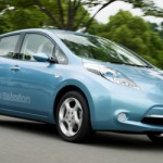Nissan leaf vista frontal