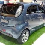 Imagen trasera del Peugeot iOn en el salón de Frankfurt