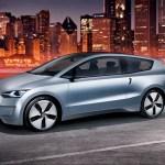 Imagen lateral del Volkswagen Up! Lite Concept