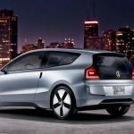 Imagen .ateral-trasera del modelo Up! Lite de Volkswagen