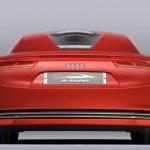 Audi e-tron imagen posterior del audi