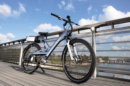 Imagen de la bici electrica de peugeot