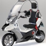 bmw c1-e imagen lateral