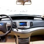 Imagen del interior del BYD e6 200kw.