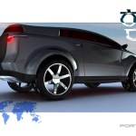 Kumho Fortis render lateral
