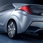 Imagen trasera del Hyundai Blue-Will