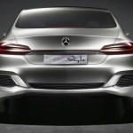 Imagen del culo del F 800 Style de Mercedes