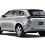 Imagen-render posterior del Mitsubishi concept px-miev
