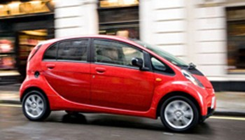 """Mitsubishi i-MiEV, versión totalmente eléctrica del modelo """"i"""""""