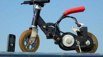 La moto eléctrica mas pequeña del mundo