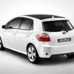 imagen trasera del Toyota Auris Híbrido