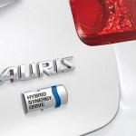 detalle en referencia al motor híbrido del Toyota Auris Híbrido