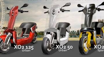 Xo2, scooters eléctricos plegables