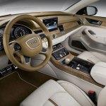 interiores del Audi A8 Híbrido