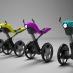 el taurus segway concept en distintos colores
