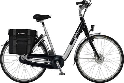 Imagen lateral de la bicicleta electrica Giant Twist Comfort CS