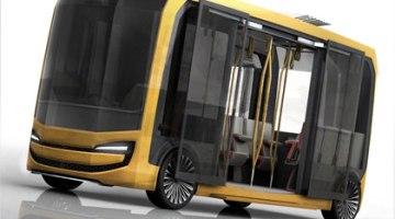 Eolo, un autobús eléctrico que no emite humos, sino que purifica el aire