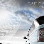 detalle piloto y lateral del Land Rover Range_e