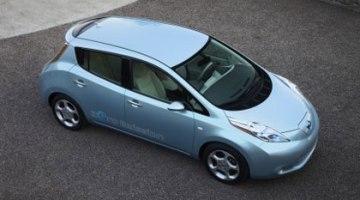 El Nissan Leaf tiene ya mas de 10.000 reservas en EUA y Japón