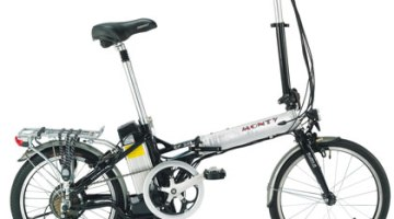 Monty EF-38 2010, bicicleta eléctrica plegable