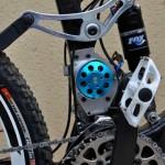 motor eléctrico de la Mountain Wolf e-bike