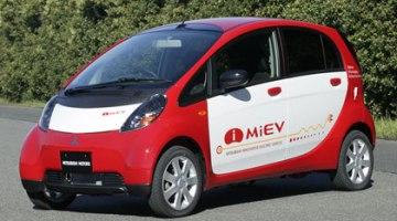imagen del i-MiEV de Mitsubishi