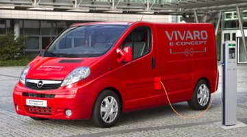 Opel Vivaro e-Concept, prototipo de furgoneta eléctrica