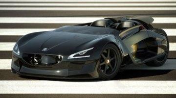 Peugeot EX1, un misíl eléctrico pensado para batir récords