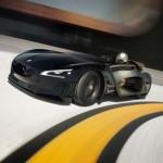 imagen simbolizando la velocidad del Peugeot EX1