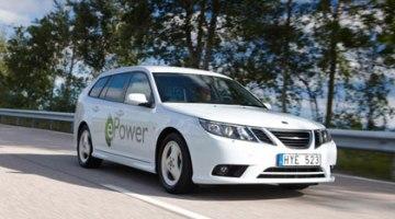 Saab presentará en París su primer coche eléctrico, el Saab 9-3 ePower
