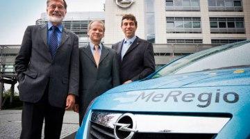 Opel Meriva eléctrico y el proyecto MeRegioMobil