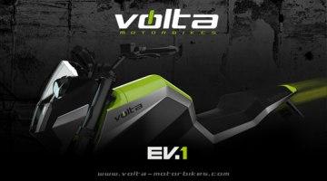 Volta Motorbikes: Avance del diseño de su primer modelo Volta EV-1